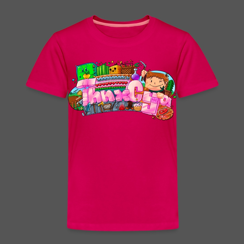 JUNIOR - 'Hearts' - Kids' Premium T-Shirt