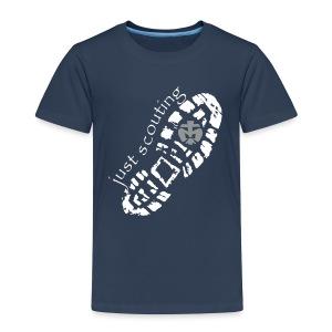 T-Shirt JUST SCOUTING Kinder - Kinder Premium T-Shirt