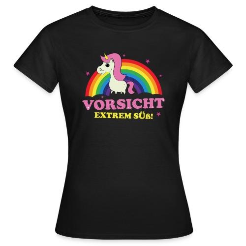 Süßes Einhorn - Frauen T-Shirt