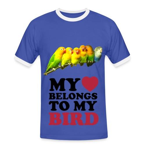 Tee-Shirt Eté Birds. - T-shirt contrasté Homme