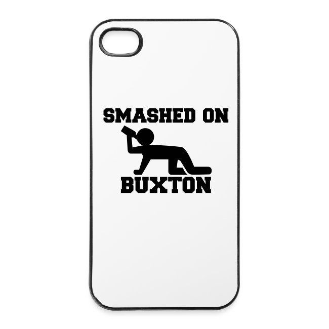 Smashed On Buxton iPhone 4/4s Case