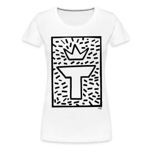 Logo MJT | Manu - T-shirt Premium Femme