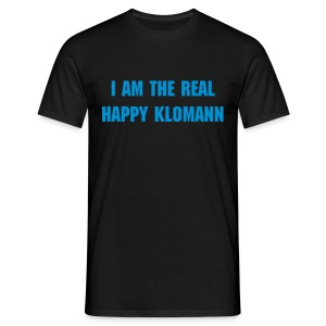 Happy Klomann Shirt - Männer T-Shirt