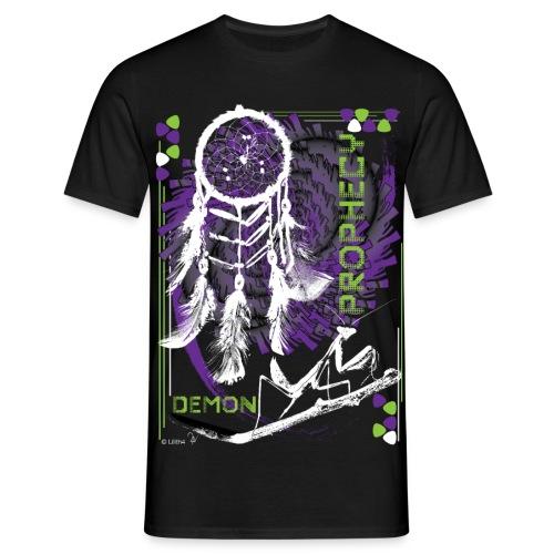 Prophecy Black - Maglietta da uomo
