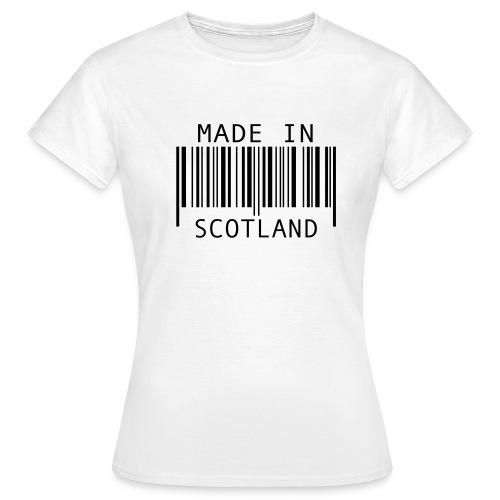 Made In Scotland Shirt - Women's T-Shirt
