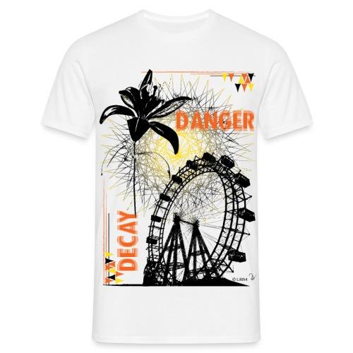 Danger White - Maglietta da uomo