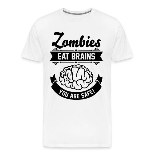 t-shirt zombie - Maglietta Premium da uomo