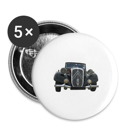 traction is fantastic - Lot de 5 petits badges (25 mm)