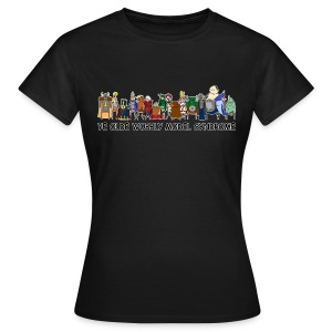 Ye Olde Wobbly Model Syndrome Women - Women's T-Shirt