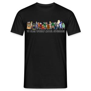Ye Olde Wobbly Model Syndrome - Men's T-Shirt