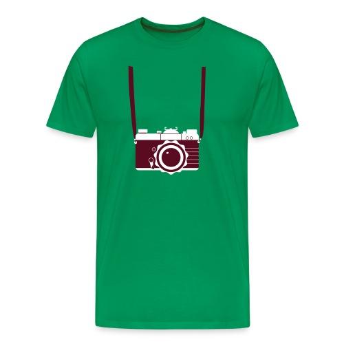 Foto Camera - Mannen Premium T-shirt