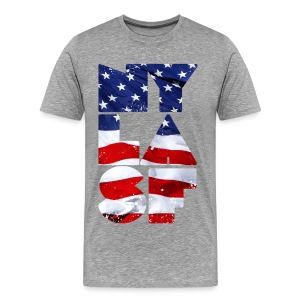 NY LA SF - Men's Premium T-Shirt