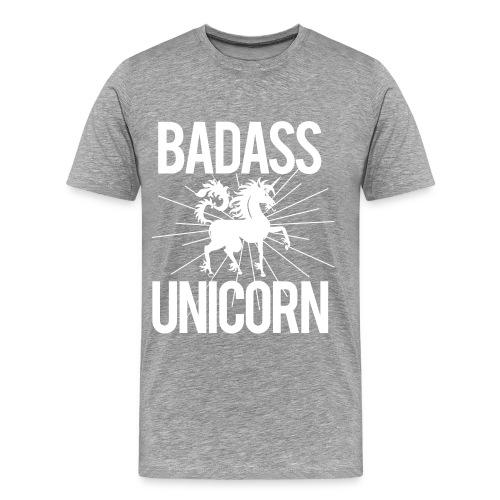 Badass Unicorn - Men's Premium T-Shirt