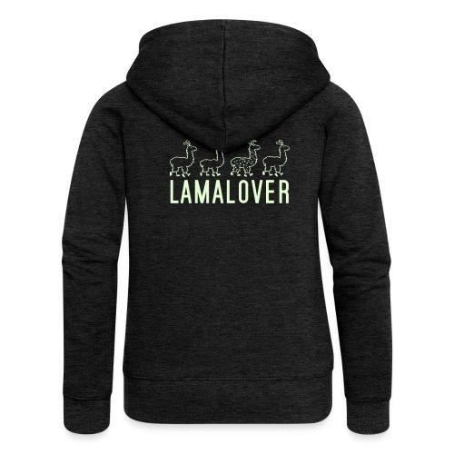Lamalover - Frauen Premium Kapuzenjacke