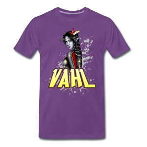 Vahl - Soft Shaded - Men's Premium T-Shirt