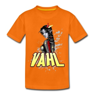 Vahl - Soft Shaded - Kids' Premium T-Shirt