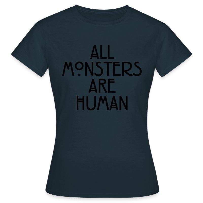Camiseta Camiseta Are Monsters Monsters Human All Are All Human Monsters Are All Camiseta eEDIYH2W9