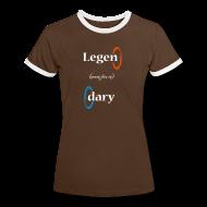 Camisetas ~ Camiseta contraste mujer ~ Camiseta chica