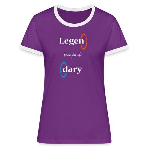 Camiseta chica Legen-daria - Camiseta contraste mujer