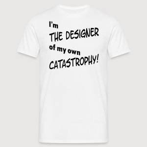 I'm THE DESIGNER - Männer T-Shirt
