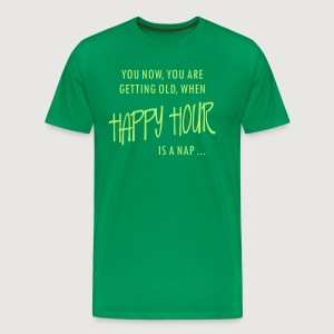HAPPY HOUR is a nap - Männer Premium T-Shirt