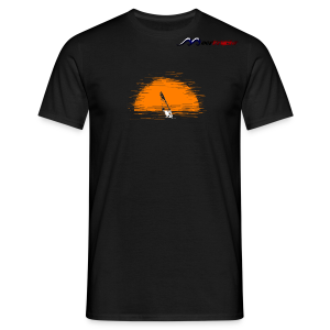 Orange Ball - Männer T-Shirt
