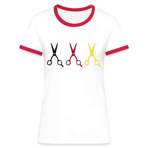 MISS Germany Special - Frauen Kontrast-T-Shirt