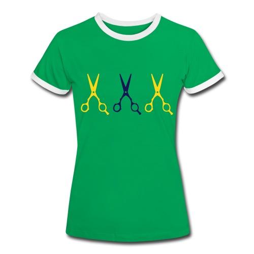 MISS Brasil Special - Frauen Kontrast-T-Shirt