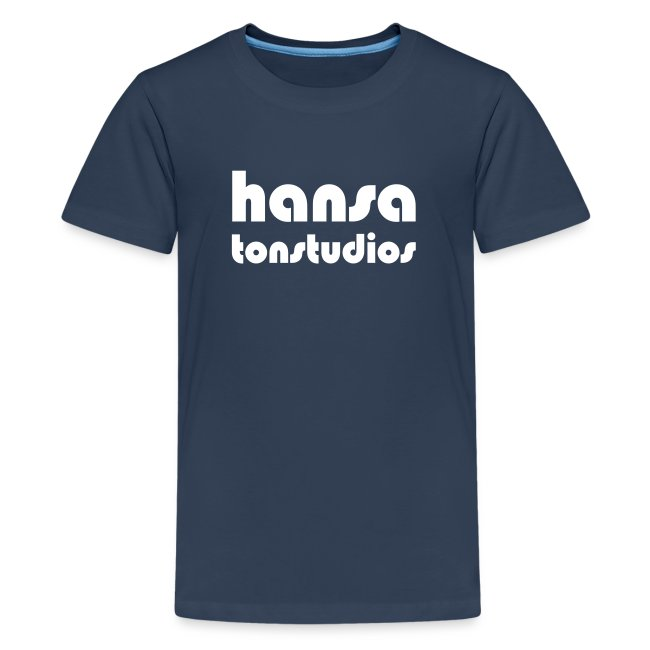 Hansa Studios T-Shirt Teenager navy