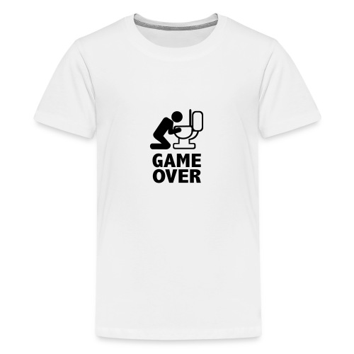 Game over wc - T-shirt Premium Ado