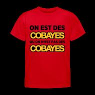 Tee shirts ~ Tee shirt Enfant ~ T-Shirt Couleur Enfant On est Cobayes