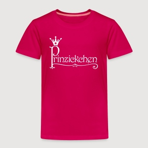 Prinzickchen / Prinzessin - Kinder Premium T-Shirt