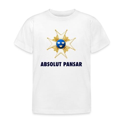 ABSOLUT PANSAR Enkel T-shirt Barn - T-shirt barn
