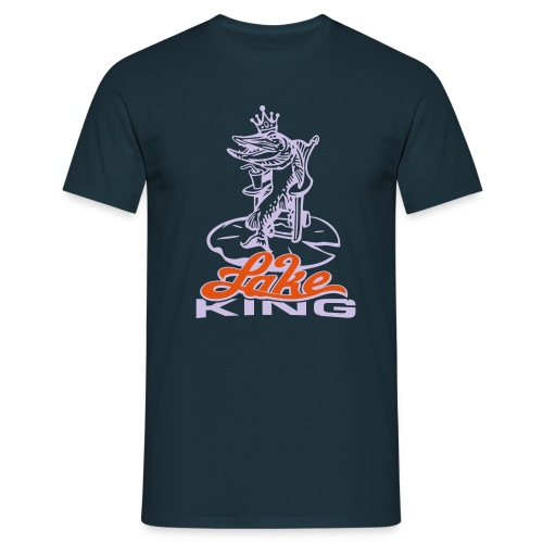 Lake King - Männer T-Shirt