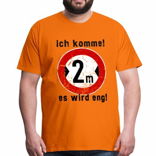 Ich Komme - Männer Premium T-Shirt