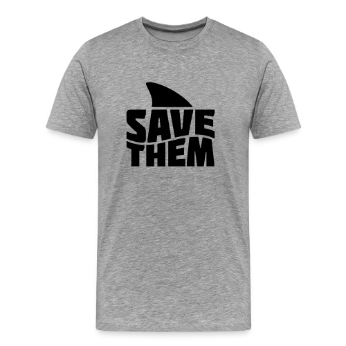 Shark T - Mens  - Men's Premium T-Shirt