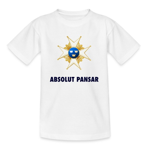 ABSOLUT PANSAR Enkel T-shirt Junior - T-shirt tonåring
