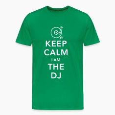 keep calm i am deejay dj Magliette