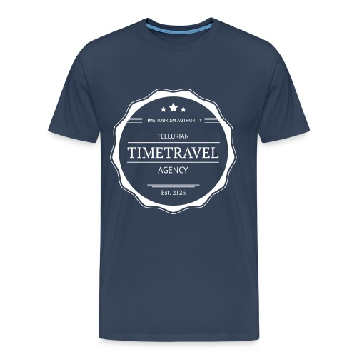 Time Travel Agency - Mannen Premium T-shirt