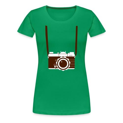 Foto Camera - Vrouwen Premium T-shirt