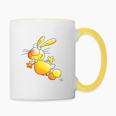 Crazy Rabbit - Bunnies Bottles & Mugs