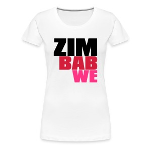 zimbabwe - Women's Premium T-Shirt