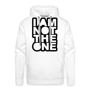 i am not the one - Men's Premium Hoodie