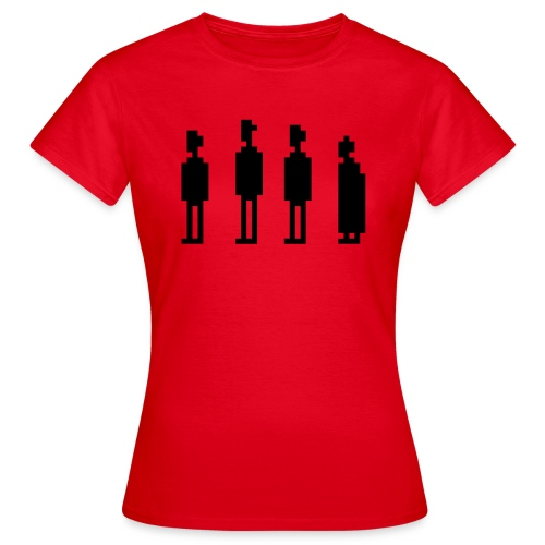 The Four Witnesses - Women - Red - Women's T-Shirt