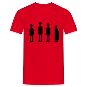 The Four Witnesses - Men - Red - Men's T-Shirt