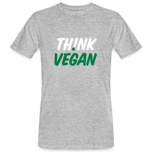 Think Vegan - Männer Bio-T-Shirt