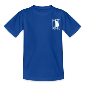 Teenagers' t-shirt with white MRC rat  - Teenage T-shirt