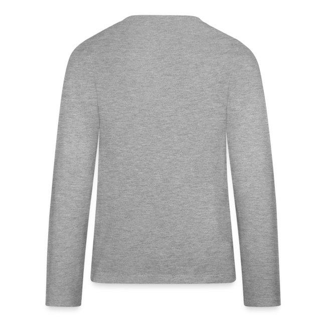 Teenagers' premium long sleeve shirt with black MRC rat