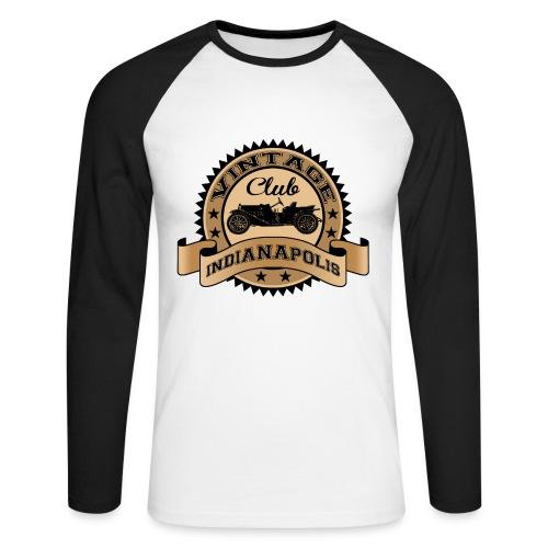 Vintage car club 04 - Men's Long Sleeve Baseball T-Shirt