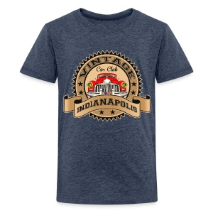 Vintage classic car - Teenage Premium T-Shirt